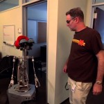 Conan O'Brien Shows Off the Office Robots That Help Make the Show on 'Conan'