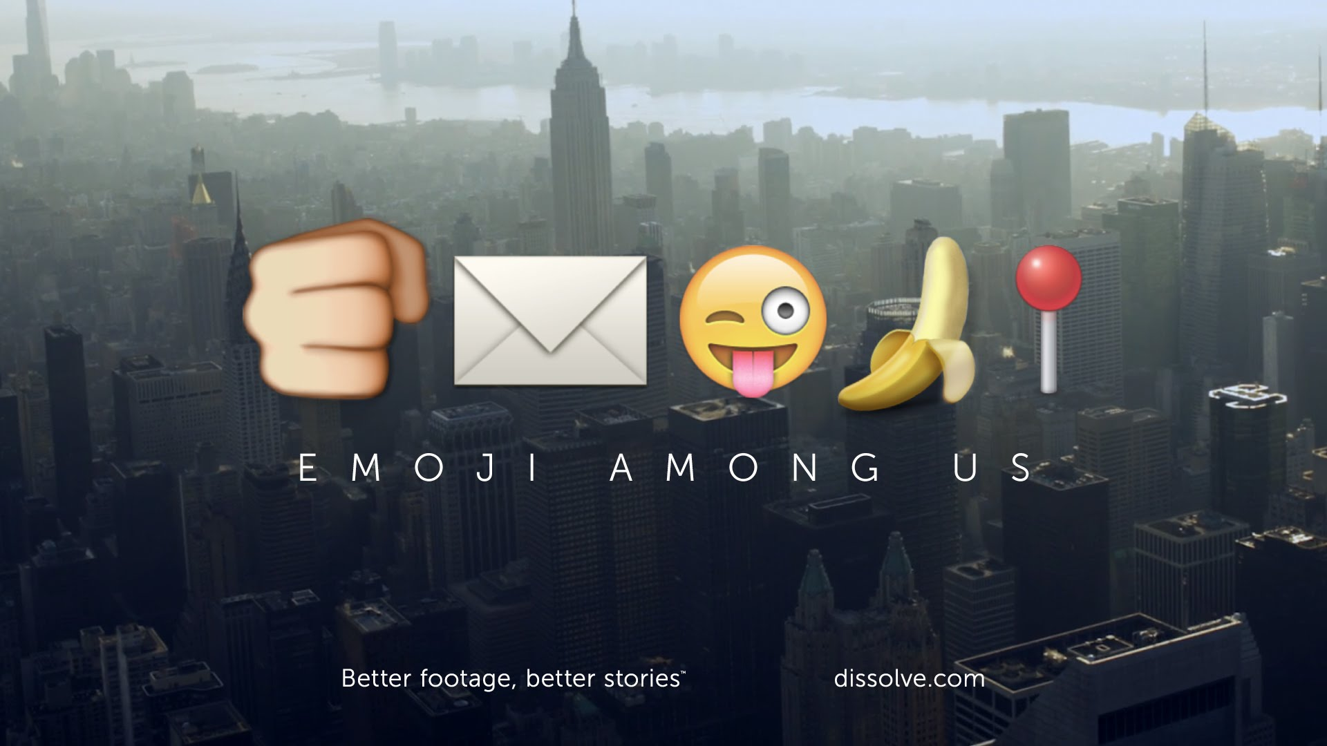 'Emoji Among Us', A Nature Documentary Parody Exploring the Role of Emoji in the World