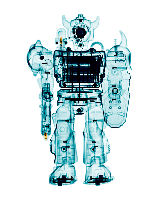 X-rays of Toys 01