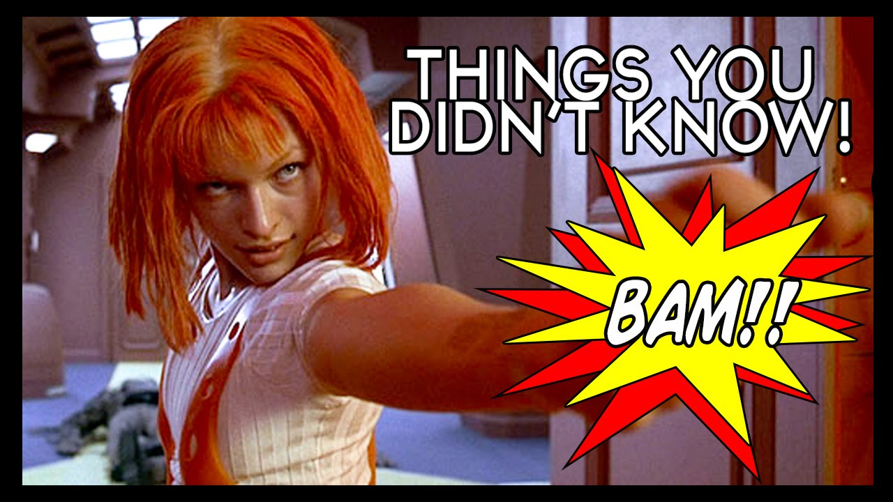 Facts About Luc Besson's 1997 Sci-Fi Action Film 'The Fifth Element' That You May Not Have Known