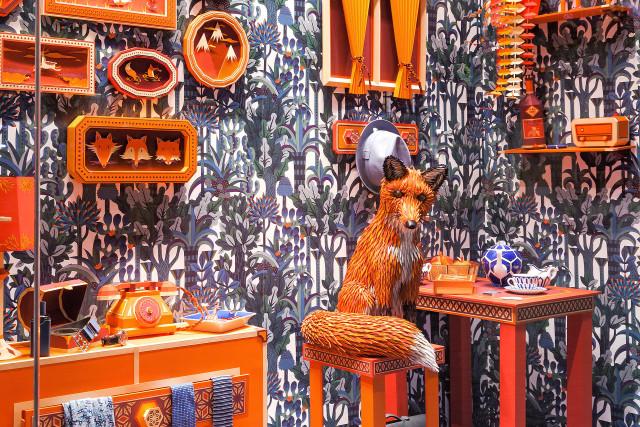 Fox's Den Window Display by Zim&Zou