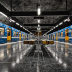 Beautiful Photos of Stockholm's Visually Striking Metro System