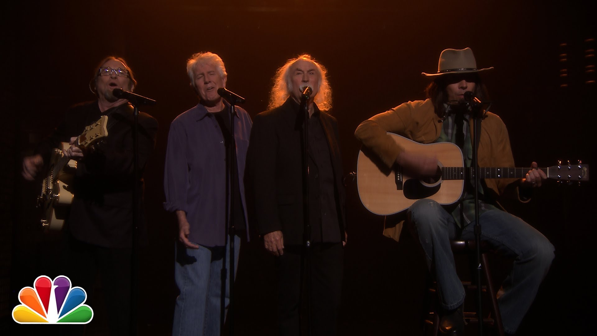 Jimmy Fallon as Neil Young Sings 'Fancy' by Iggy Azalea With the Real Crosby, Stills & Nash