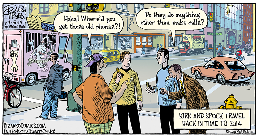 An Amusing Comic Imagining What Might Happen If Kirk And