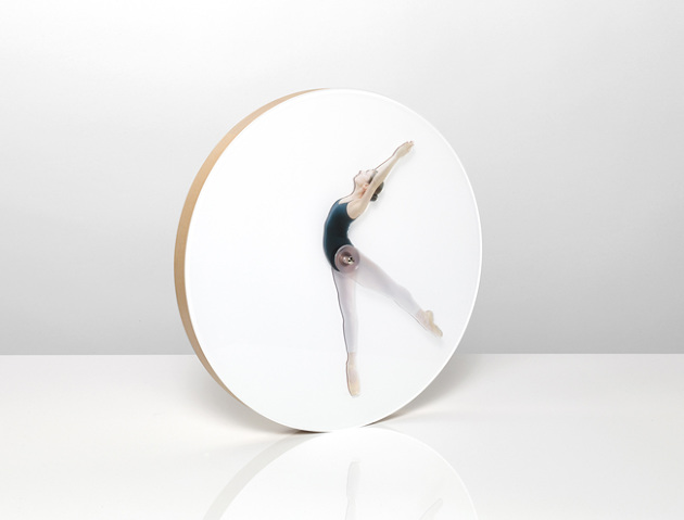 Time Is Dancing, A Clever Wall Clock With an Articulating Ballerina Instead of Clock Hands