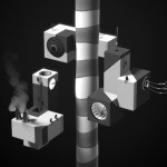 'Mother', A Surreal Black-and-White Animated Short Featuring Floating Objects and Factories