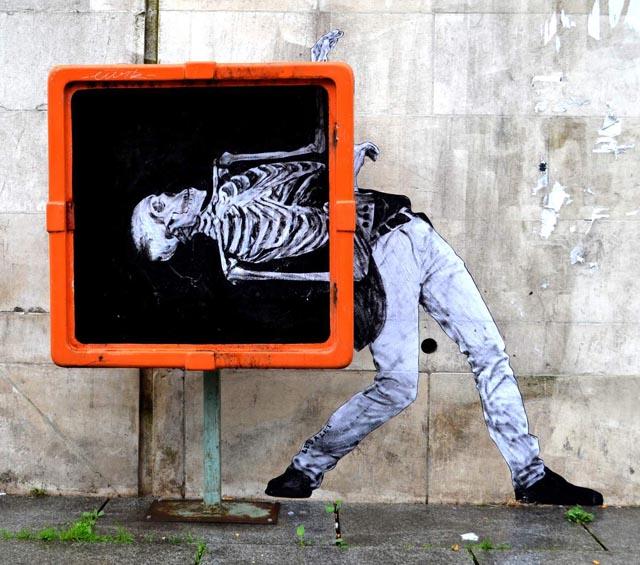 Danse Macabre by Levalet