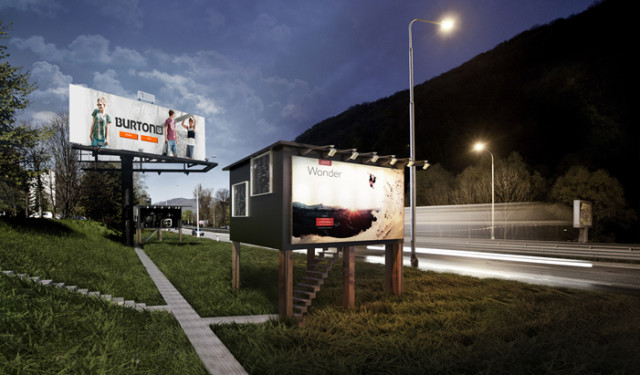 The Gregory Project Billboard Housing