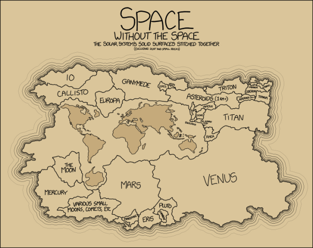 Surface Area by xkcd