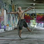 'The Human Coin', GoPro Video of Taiwanese Street Performer Isaac Hou Spinning in His Giant Metal Hoop
