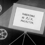'Threading the RCA Projector', A 1950s Instructional Film Demonstrating the Proper Operation of a 16mm Projector