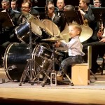Three-Year-Old Russian Drummer Plays With Philharmonic Orchestra