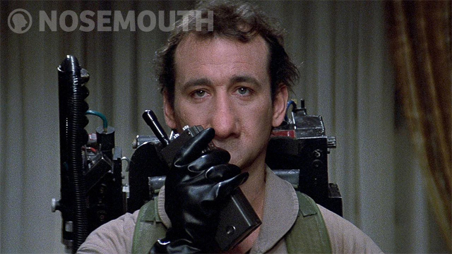 Nosemouth Bill Murray Ghostbusters