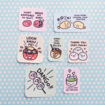 Adorable Japanese Food Pun Stickers