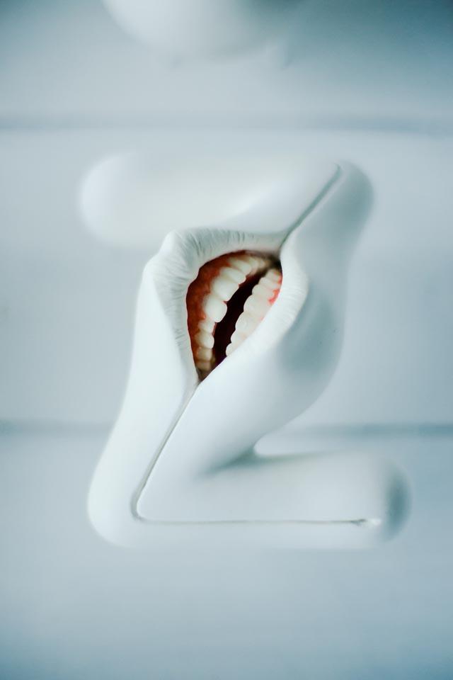 Oral:phabet Creepy Mouth Alphabet by Takayuki Ogawa