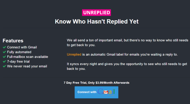 Unreplied
