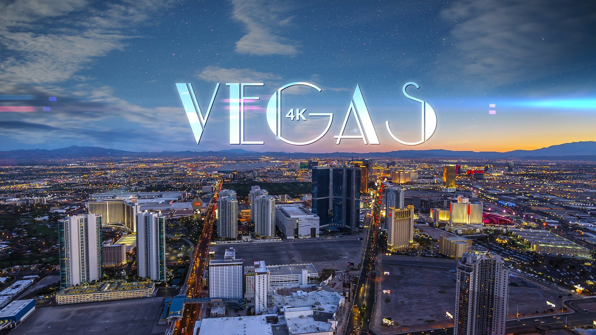 vegas 4k', an ultra high-definition time-lapse video of sin city at