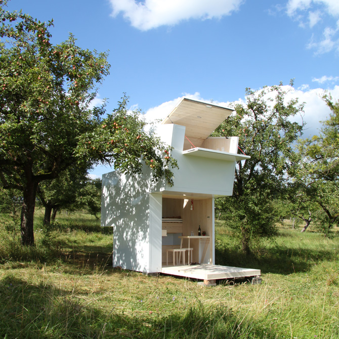 Soulbox, A Minimalist Cabin with a Modular, Easily Transportable Design