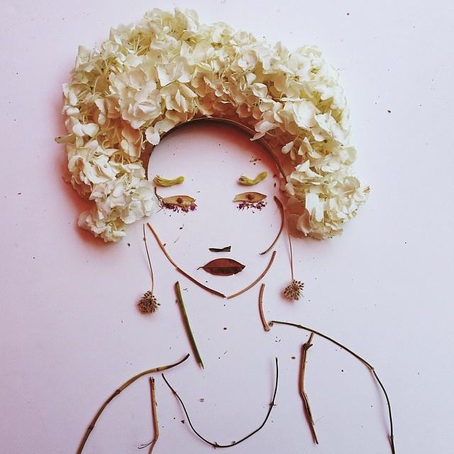 Flower Portraits by Justina Blakeney