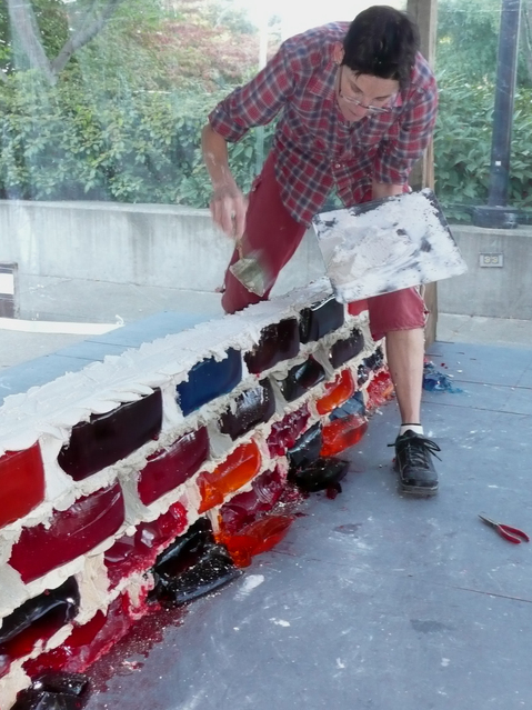 Jello Brick Wall by Robert Seng and Lisa Hein