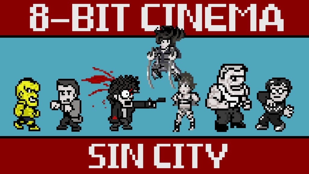 8-Bit Cinema – 'Sin City' Retold as an 8-Bit Animated Video Game