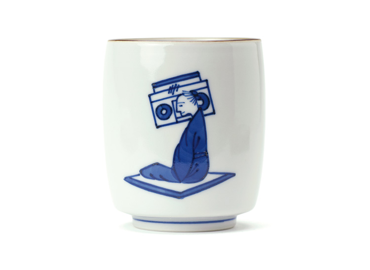 Contemporary Images on Traditional Japanese Pottery