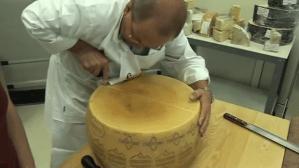 Break Open a Wheel of Parmesan Cheese