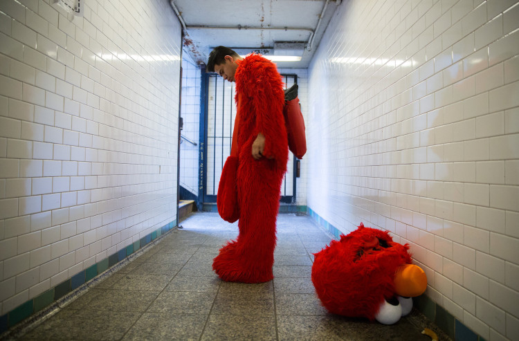 A Behind the Scenes Look at the Costumed Performers of Times Square