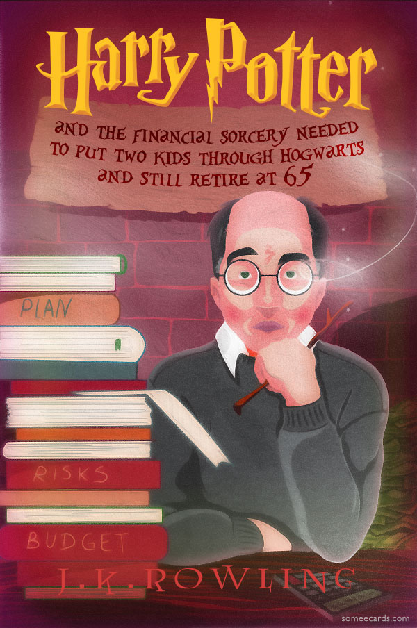 Alternative Covers for 'Harry Potter' Books Imagining the Iconic Wizard's Middle-Aged Life
