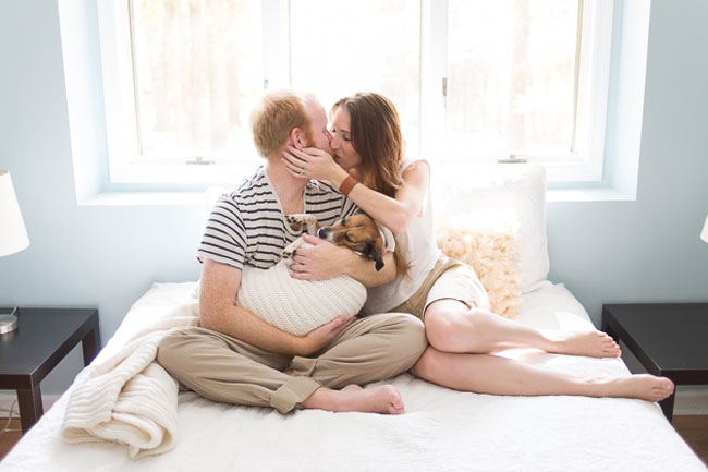 Doggy Newborn Photos by Jamie Clauss