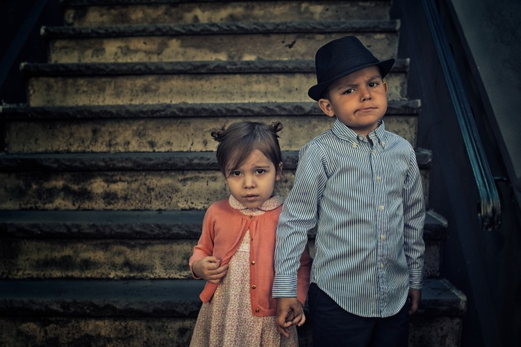 Vintage Portraits of Kids by Tyler Orehek