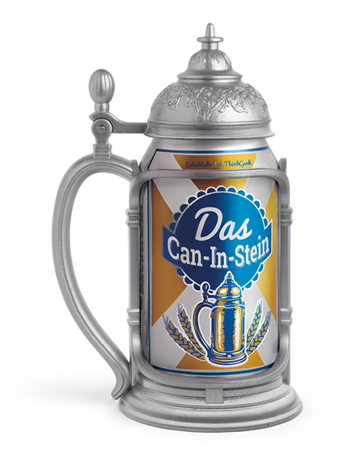 Das Can-in-Stein from Think Geek