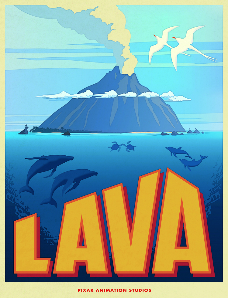 Pixars Film Slate Heats Up With Lava