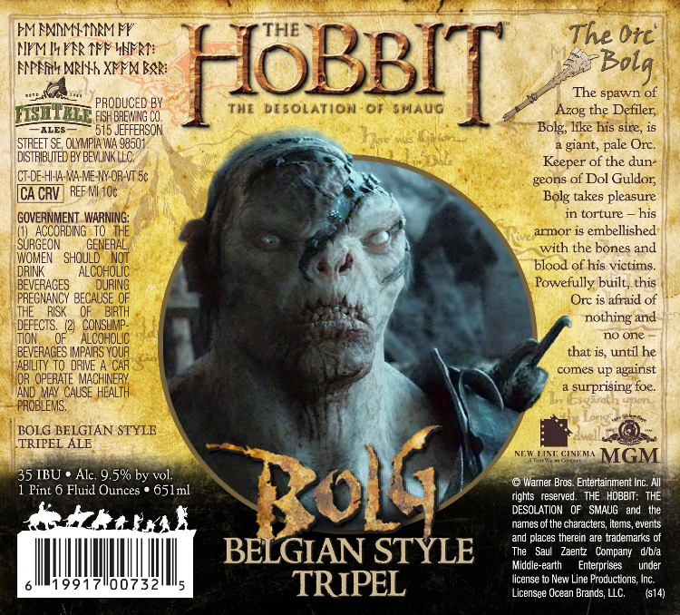 Fish Tail Hobbit Bolg Belgian Tripel