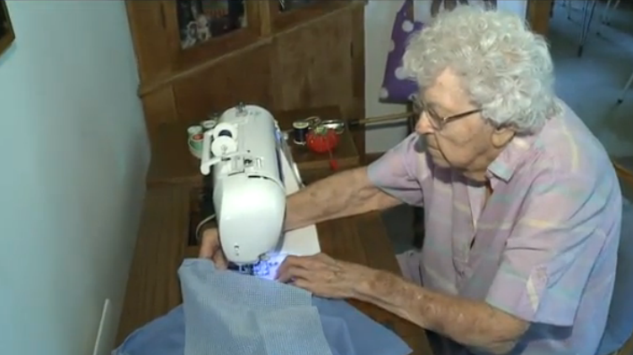 99-Year Old Woman Makes A Dress A Day For Charitable Organization That Seeks to Empower Little Girls in Africa