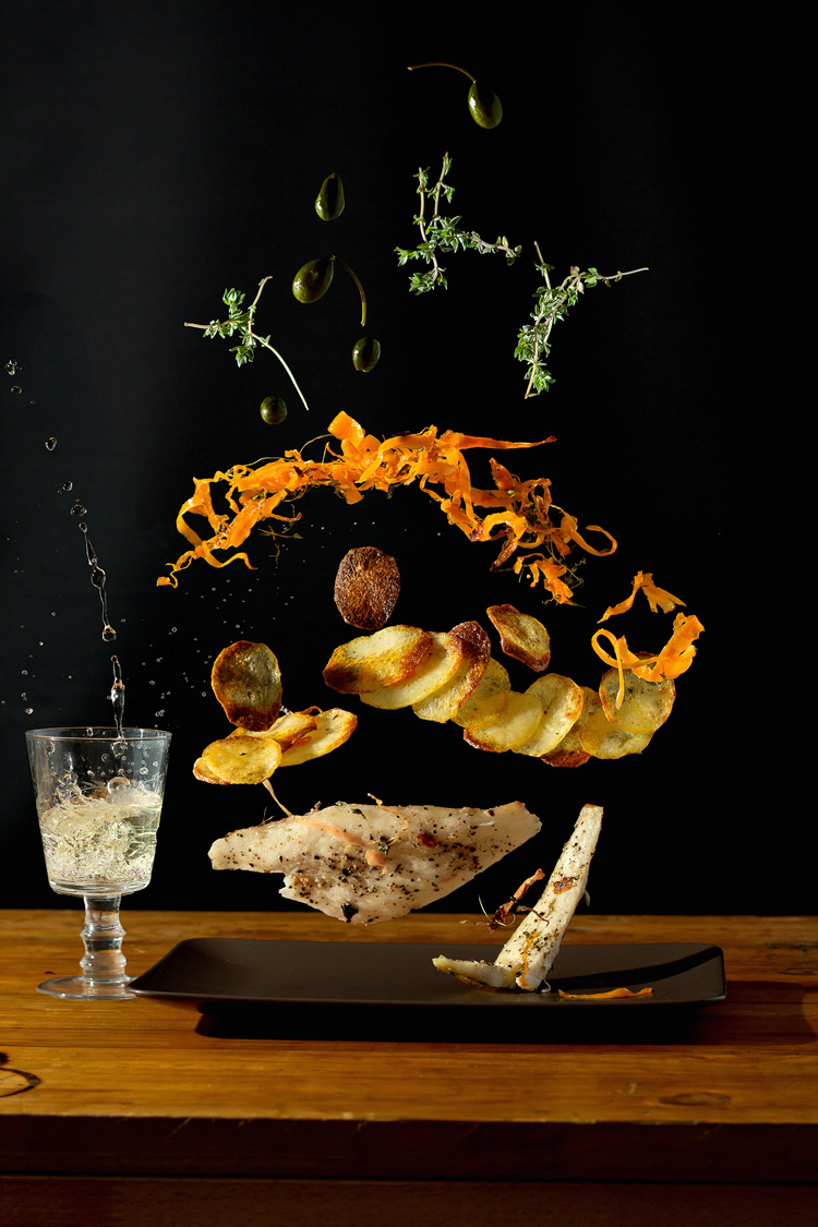 High Speed Photos of Recipes by Nora Luther
