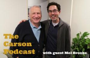 Mel Brooks and Mark Malkoff