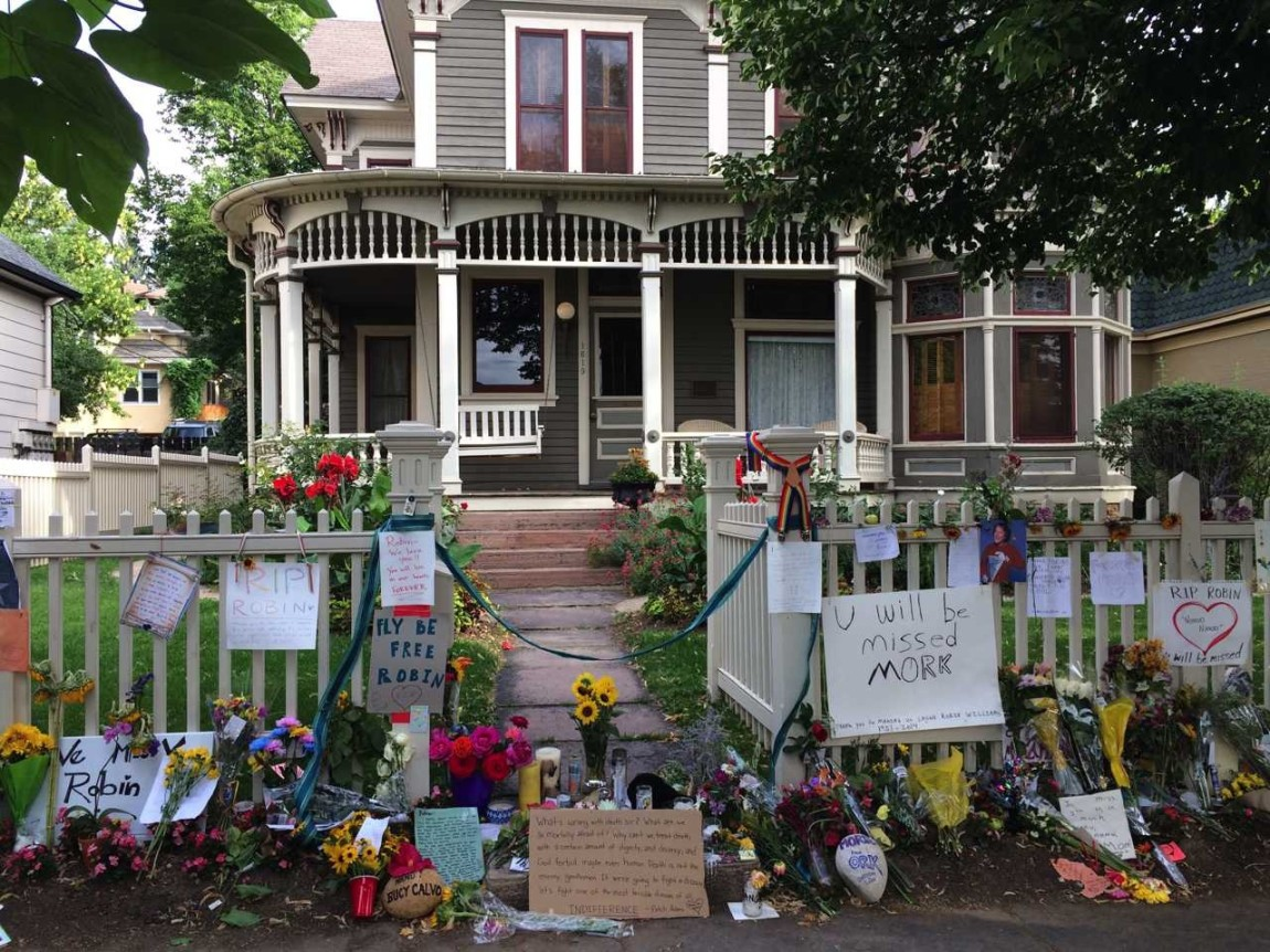Mork & Mindy House Memorial
