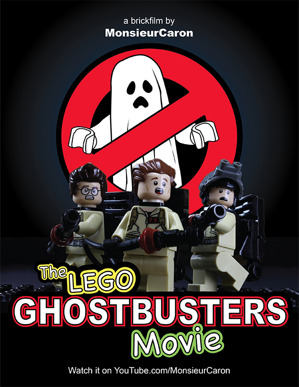 Stop Motion Animated Lego Version Of The 1984 Film Ghostbusters