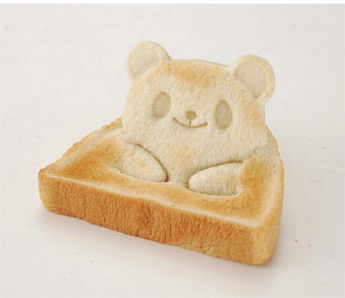 A Japanese Bread Cutter and Mold That Makes an Adorable Pop-Up Panda