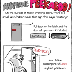 How to Play Airplane Peek-A-Boo by The Oatmeal