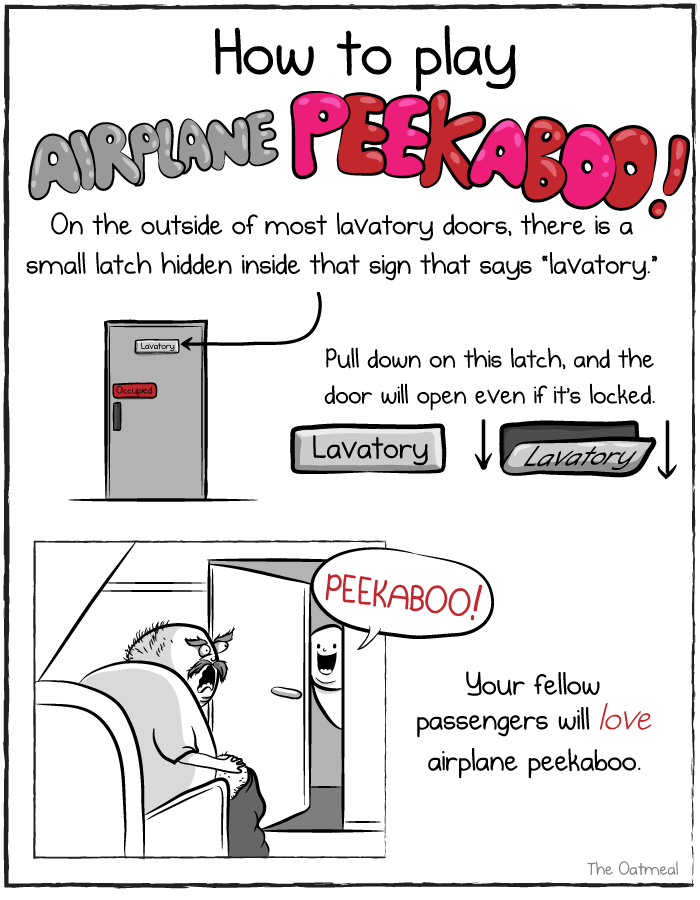 Airplane Peek-A-Boo