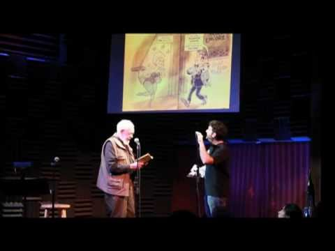Al Jaffee Does Live Reading of Snappy Answers to Stupid Questions