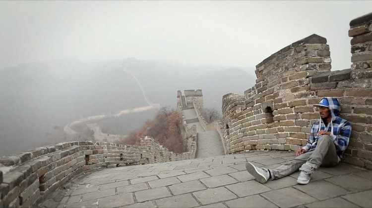 Amazing Dubstep Dancing by NONSTOP on the Great Wall of China