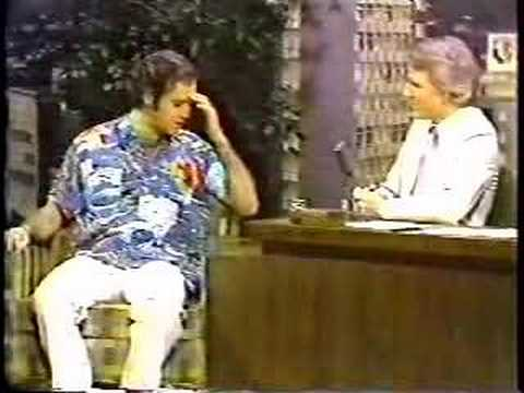 Andy Kaufman on The Tonight Show With Host Steve Martin