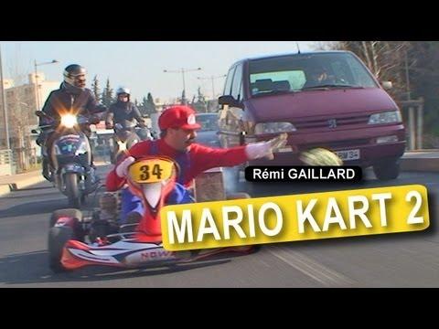 Another Real World Mario Cart Prank by Rémi Gaillard