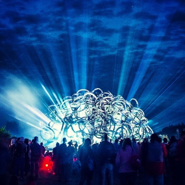 Universe Mind Video Projection