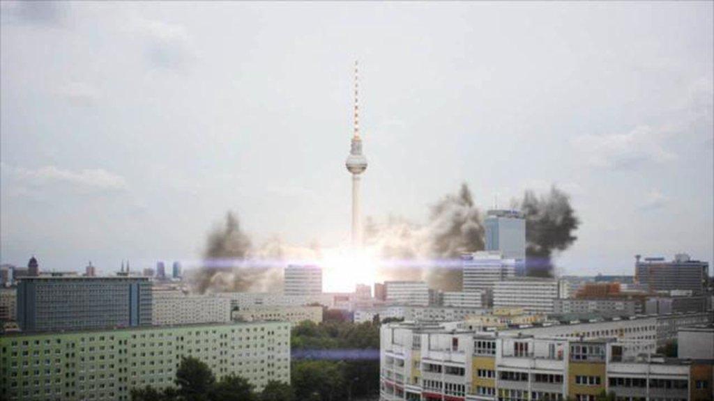 Berlin TV Tower Lift Off