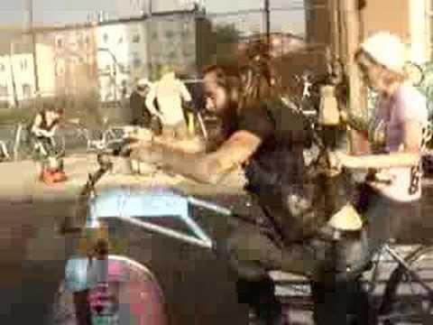Bike Kill V, Chaotic Bicycle Olympics in Brooklyn