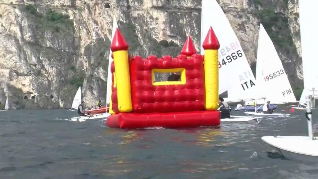 Bouncy Castle Crashes International Regatta